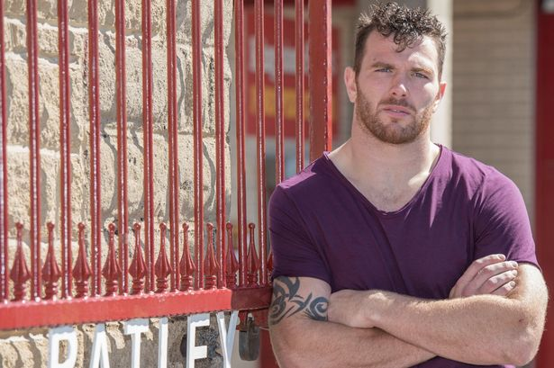 Rugby League Star Keegan Hirst Becomes First British -7672