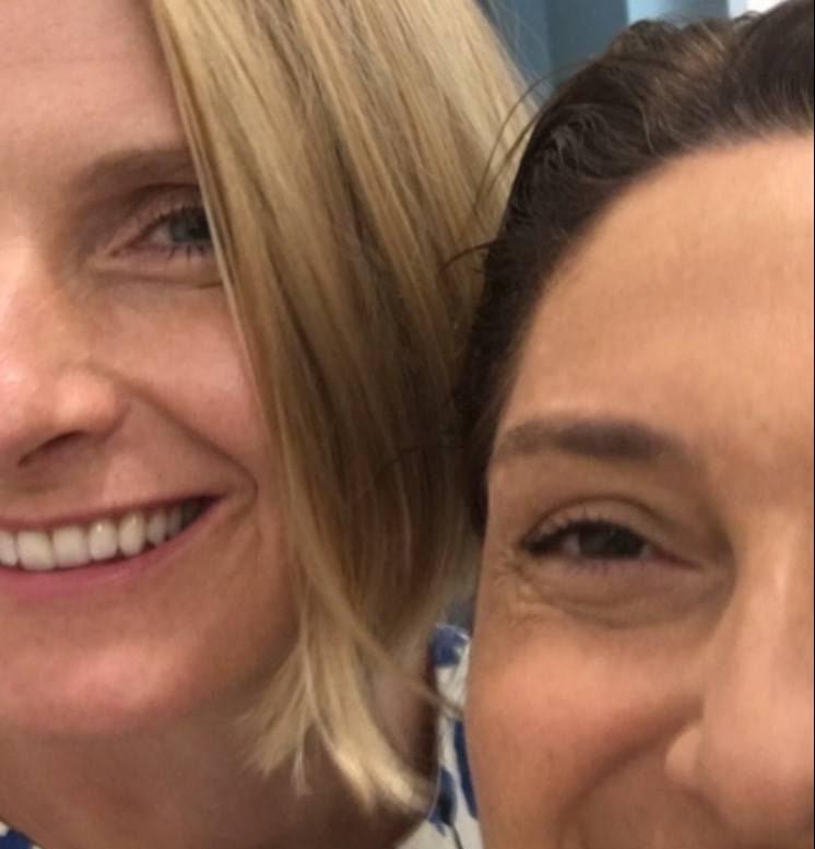 Liz Gilbert and Rayya Elias