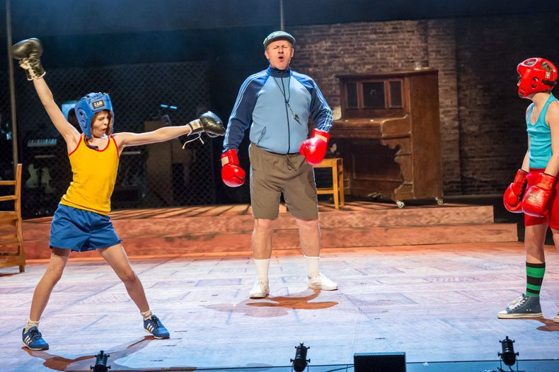 Billy Elliot boxing