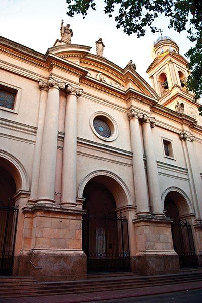 Heritage building in Montevideo