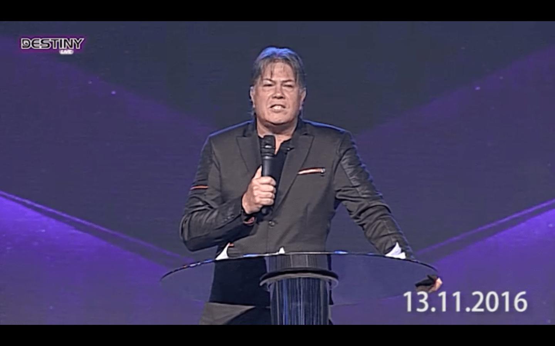 Brian Tamaki preaching