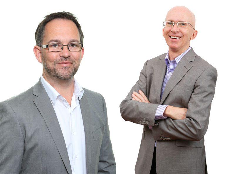 Shaughan Woodcock and Jonathan Smith