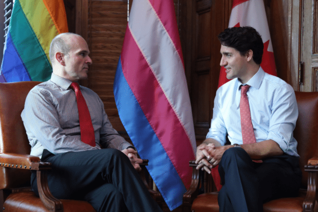 Randy Boissonnault and Justin Trudeau