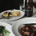 Food at Augustus Bistro
