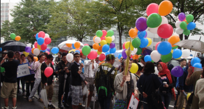 Japan Pride at Sapporo