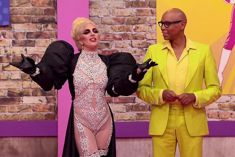 express Lady Gaga on RuPaul's Drag Race Season 9 Premiere