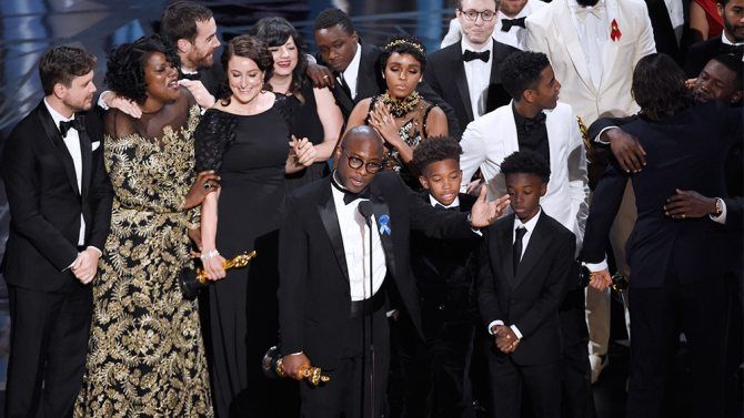 Moonlight wins Oscar for Best Picture