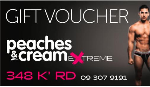 Peaches and Cream Extreme voucher