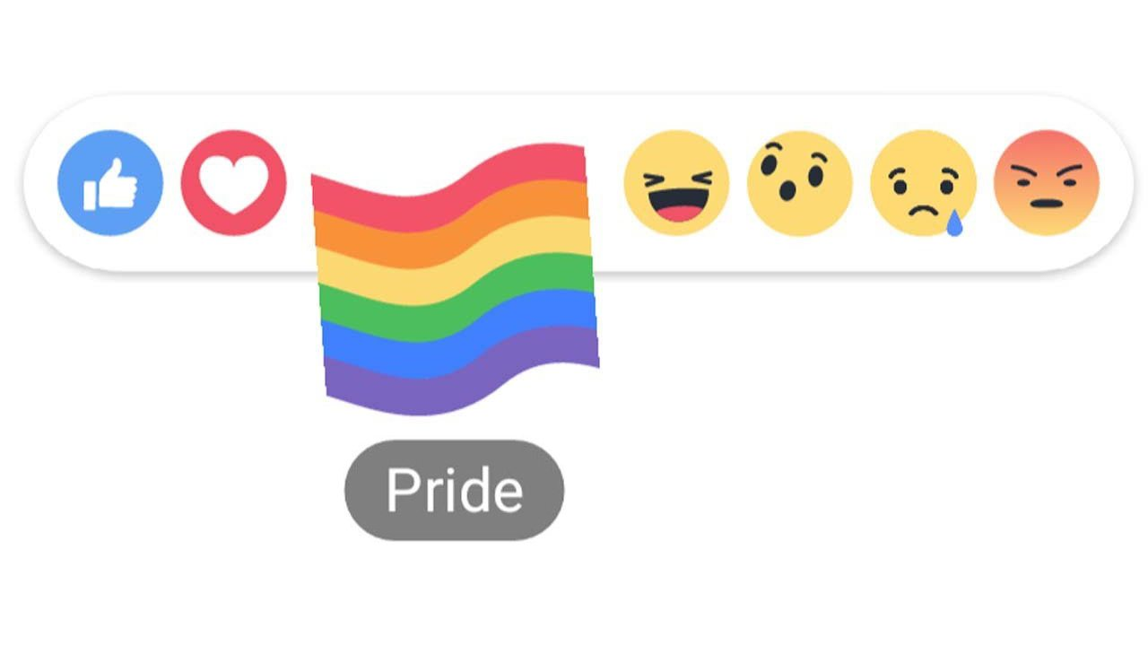 Facebook LGBT+ Reaction
