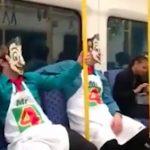 express homophobic train assault