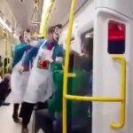 express train assault