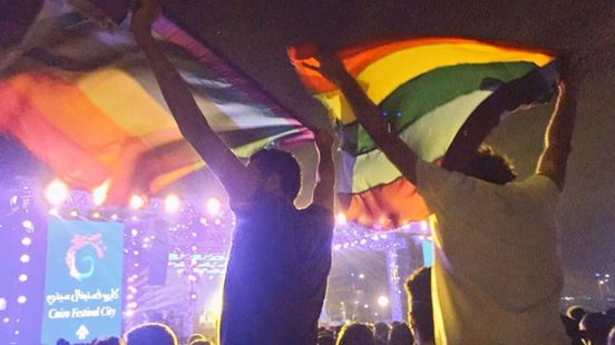 Egypt arrests gay express