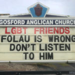 New South Wales Church Takes A Stand Against Folau