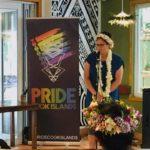 Louisa Wall Pride Cook Islands