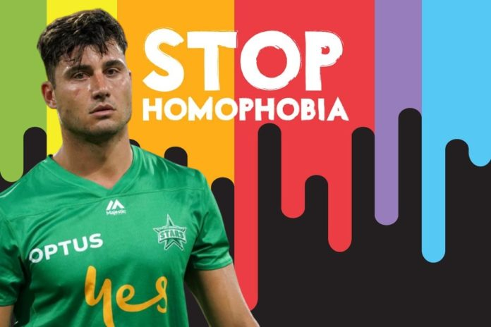Marcus Stoinis Homophobia