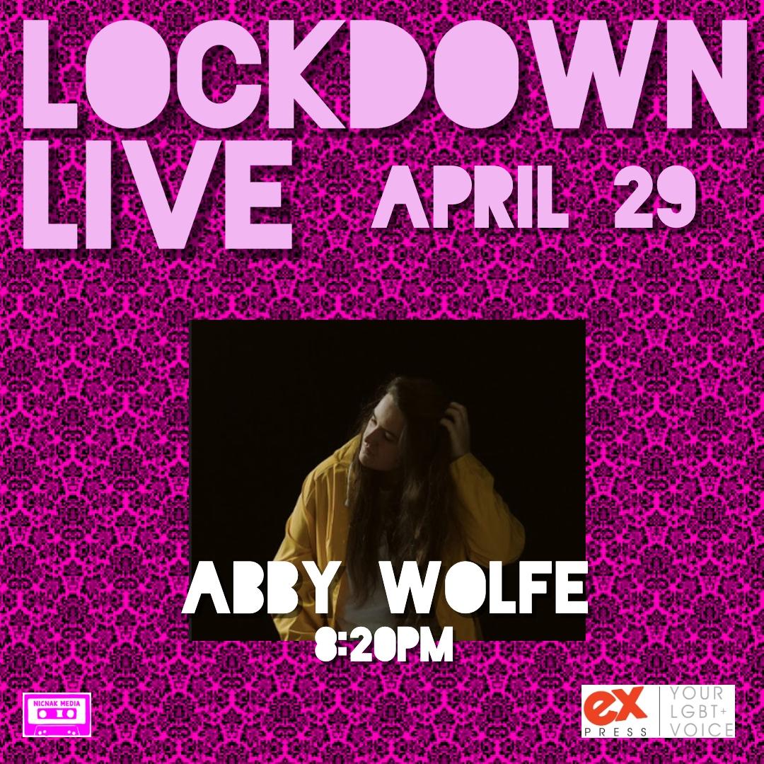 LOCKDOWN LIVE LINE-UP APRIL 29