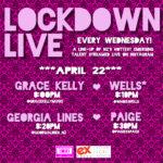 LOCKDOWN LIVE APRIL 22