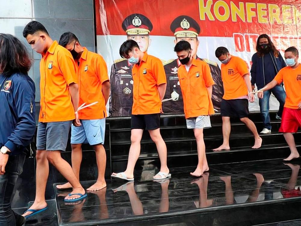 Indonesian Anti-Gay Raid