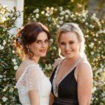 SST 0005 Nicole (Sally Martin) and Maeve (Jess Sayer) Wedding – Shortland Street (c) 2020 SPP