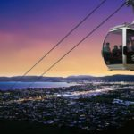 Skyline Rotorua_gondola night