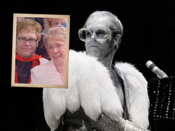 Elton John And Mother