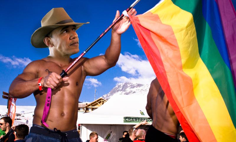 Rainbow-Obama